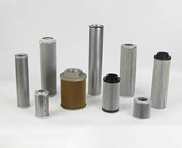 Several different types of cartridge filter.