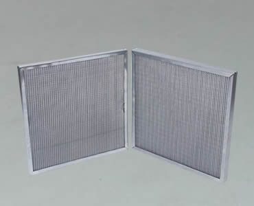 Panel Filter High Filtration And Dust Holding Capacity