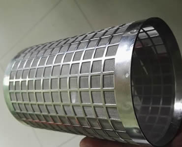 Perforated Filter Tube With Various Hole Shapes